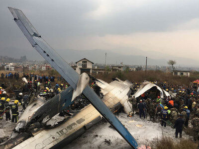 Image result for Bangladeshi Passenger Plane With 67 Passengers Crashes In Nepal