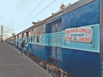 Samjhauta Ex on schedule between Delhi and Attari